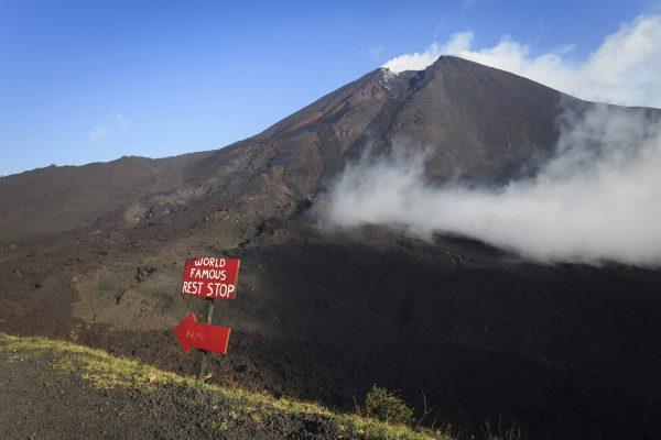 Antigua / Pacaya volcano (active) / Antigua