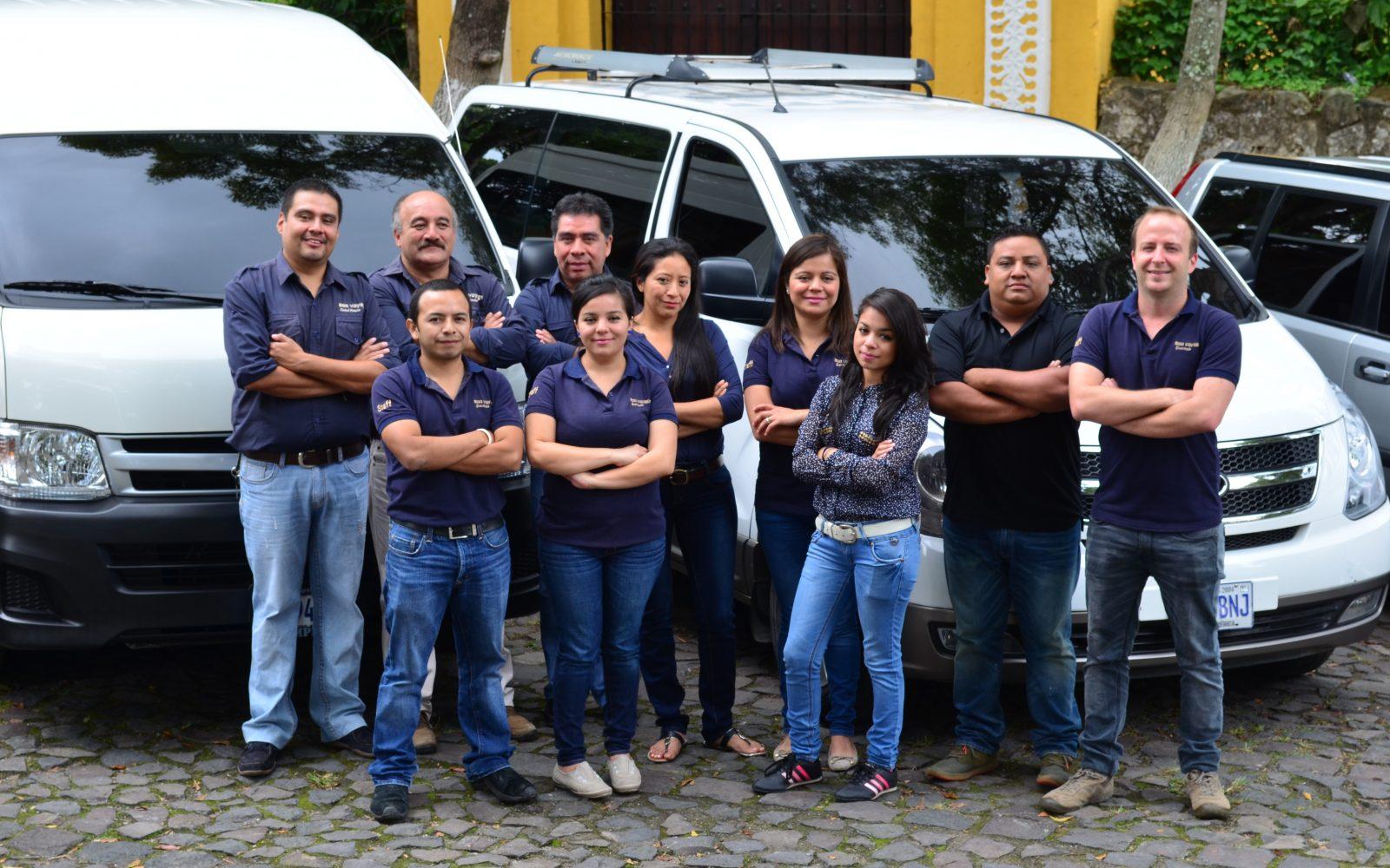 Une équipe franco-guatémaltèque