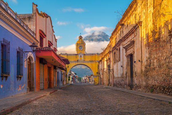 Arrivée au Guatemala / Antigua